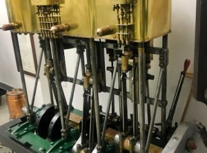 1897 HERRESHOFF Triple Expansion Steam Yacht Engine