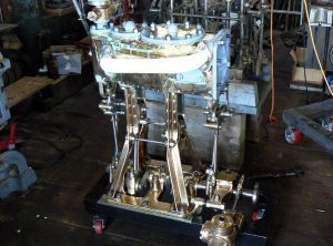 1898 US NAVY Type G2 Compound Marine Engine