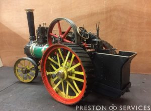1 Inch Scale BURRELL Traction Engine