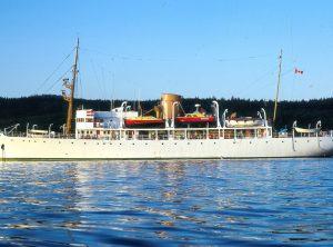 230 Ft Steam Yacht