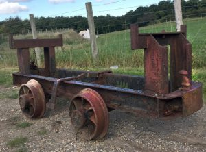 Four off 2 Ft Gauge Tip Wagon Chassis