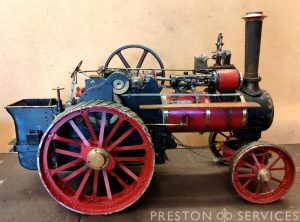 2 Inch Scale ALLCHIN Traction Engine