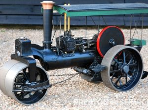 2 Inch Scale BURRELL Steam Roller