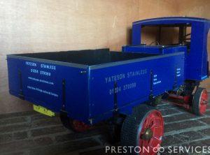 3 Inch Scale CLAYTON Steam Wagon