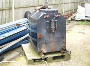 3 Drum Oil Fired Boiler