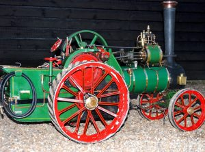 3 Inch Scale BURRELL Agricultural Traction Engine
