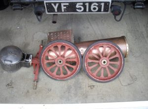 3 Inch Scale FOWLER Traction Engine
