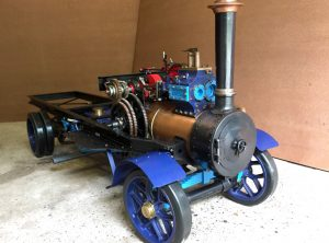 3 Inch Scale FODEN Steam Wagon