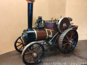 3 Inch Scale Tasker Traction Engine