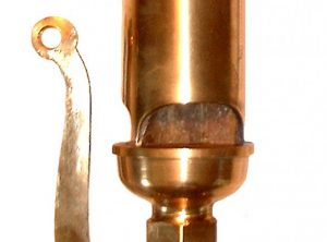 "7½"" CROSBY Pattern 3 Note Chime Whistles"
