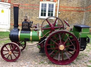 4½ Inch Scale BURRELL Traction Engine