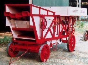 4 Inch Scale GARRETT / BARNWORK Threshing Machine
