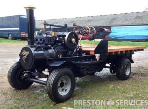 4½ Inch Scale FODEN Steam Wagon