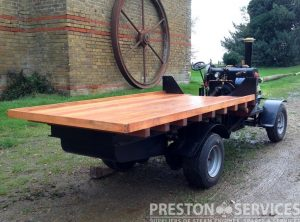 4½ Inch Scale FODEN Steam Wagon