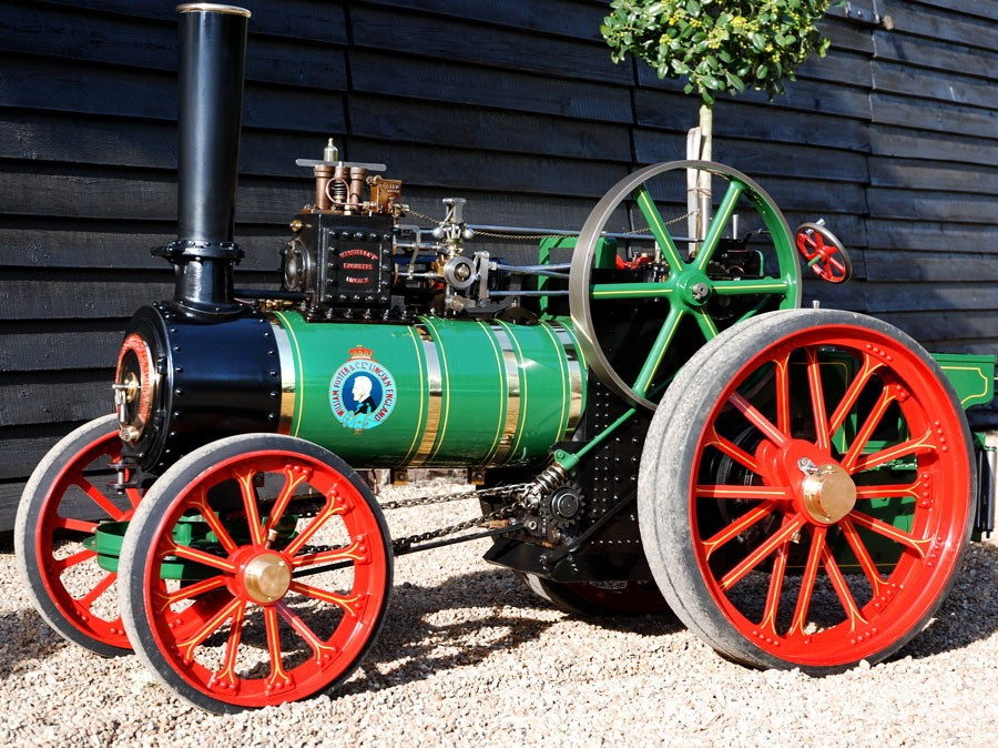 Four Engine Tractor : Inch scale foster agricultural traction engine preston