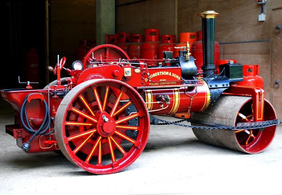 In Garrett Roller on Railway Traction Engine