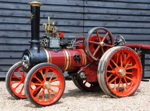 4 Inch Scale GARRETT Traction Engine