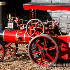 "4 Inch Scale SAVAGE ""Little Samson"" Steam Tractor"