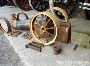 4 Inch Scale FOSTER Traction Engine