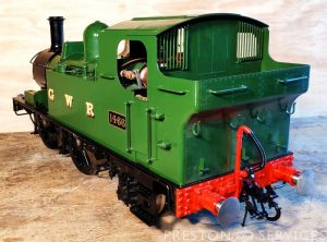 5 Inch Gauge 0-4-2 GWR Tank Locomotive