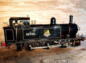 5 Inch Gauge 0-6-0 BR Tank Locomotive
