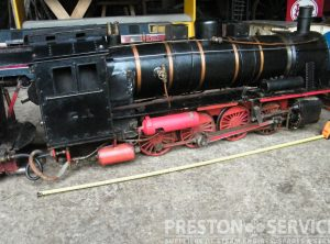 5 Inch Gauge 0-8-0 Tender Locomotive
