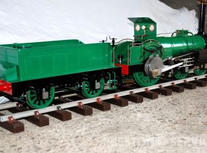 5″ Gauge CRAMPTON 4-2-0 Steam Locomotive