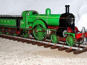 5″ Gauge STIRLING SINGLE 4-2-2 Steam Locomotive