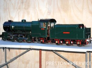 5 Inch Gauge GNR 4-4-2 Tender Locomotive