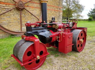 5 Inch Scale WALLIS & STEEVENS 'ADVANCE' Steam Roller