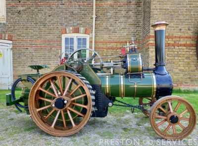 6 Inch Scale BURRELL SCC Traction Engine