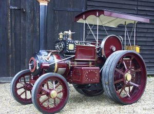 """5½ Inch Scale BURRELL """"Gold Medal"""" Steam Tractor"""