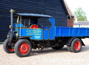 6 Inch Scale FODEN Steam Wagon