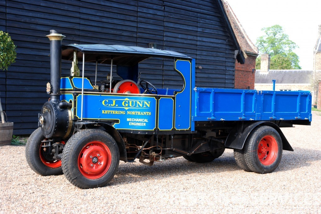 6 Inch Scale Foden Steam Wagon Preston Services