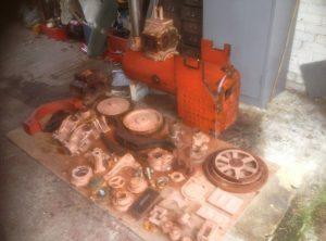 6″ Scale Foden Steam Wagon, Part Built