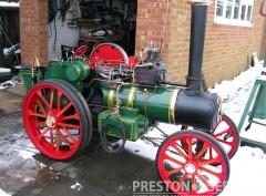 6 Inch Scale GARRETT 4CD Tractor