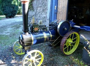6 Inch Scale SAVAGE 'Little Samson' Steam Tractor