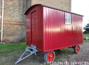 6 Inch Scale Living Van