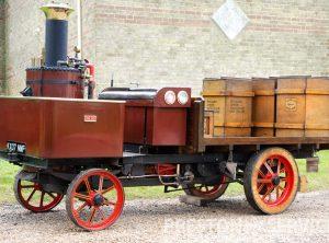 6 Inch Scale BURRELL Steam Wagon