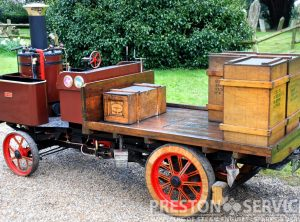 6 Inch Scale BURRELL Steam Wagon