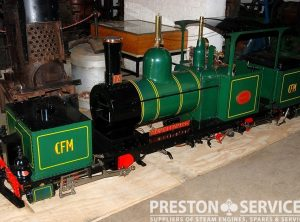 7¼ Inch Gauge GARRATT K1 0-4-0+0-4-0 Articulated Locomotive