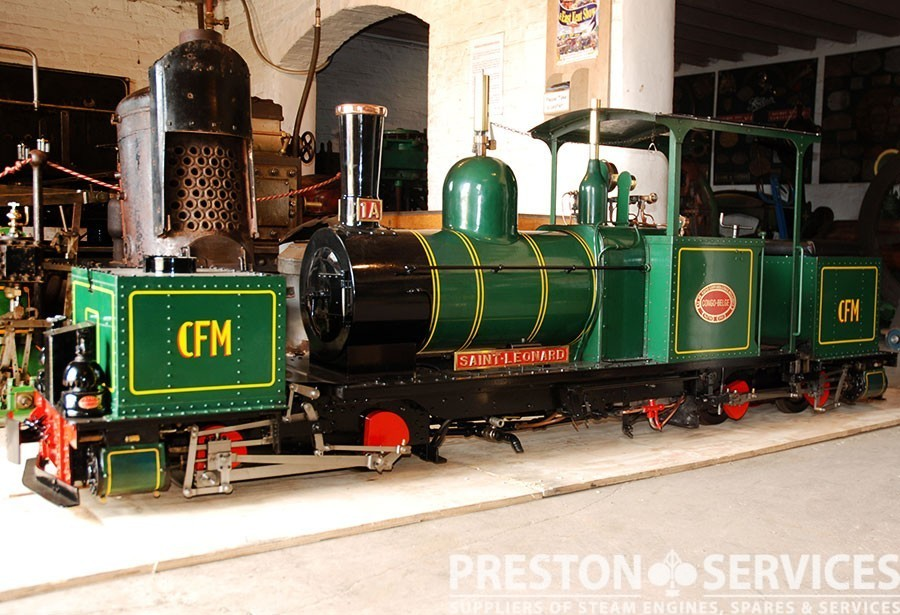 7 u00bc inch gauge garratt k1 0-4-0 0-4-0 articulated locomotive