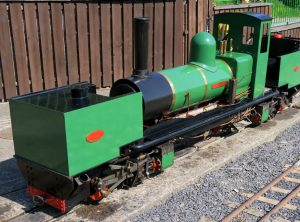 7¼ INCH GAUGE GARRATT 0-4-0+0-4-0 ARTICULATED LOCOMOTIVE
