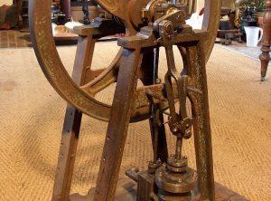 """DAIRY ENGINE True Vertical Single Cylinder 1½"""" x 4″"""