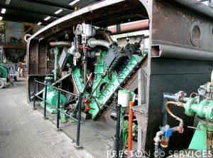 'V' Triple 3 Cylinder Marine Steam Engine