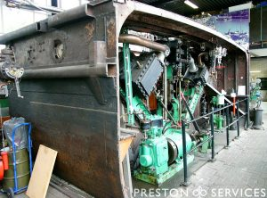 'V' Triple 3 Cylinder Marine Steam Engine