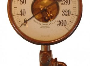 ASHTON, FROST & Co. Ltd. 9″ Open Face Pressure Gauge