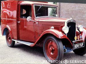 1934 AUSTIN 10 Van