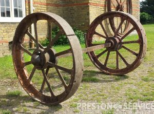 Aveling & Porter Traction Wheels
