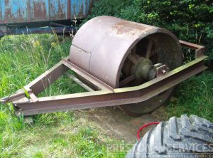 AVELING & PORTER? Steam Roller Front Roll